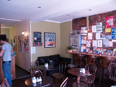Cafe Lento headingley Leeds inside