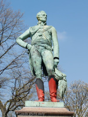 Duke of Wellington Statue Woodhouse Moor Leeds
