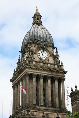 Leeds Town Hall Clock Tower
