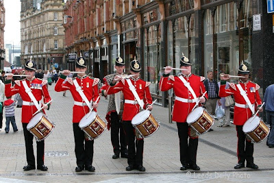 Corps of Drums Yorkshire Regiment Leeds