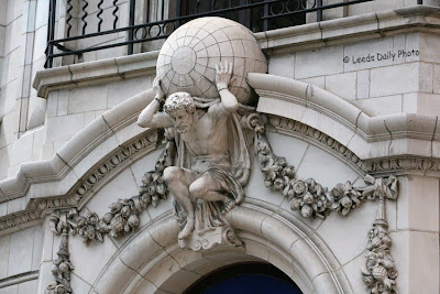 Atlas Leeds Scupture