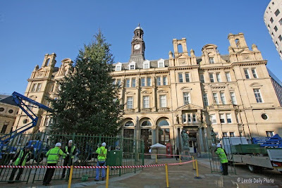 Leeds Christmas Tree City Square