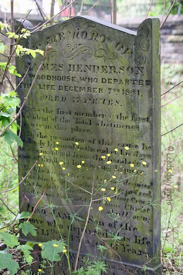 James Henderson Woodhouse Leeds Grave