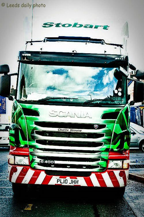 Stobart Truck Horsforth