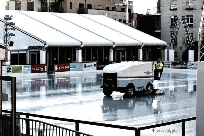 Ice Skating Rink Leeds