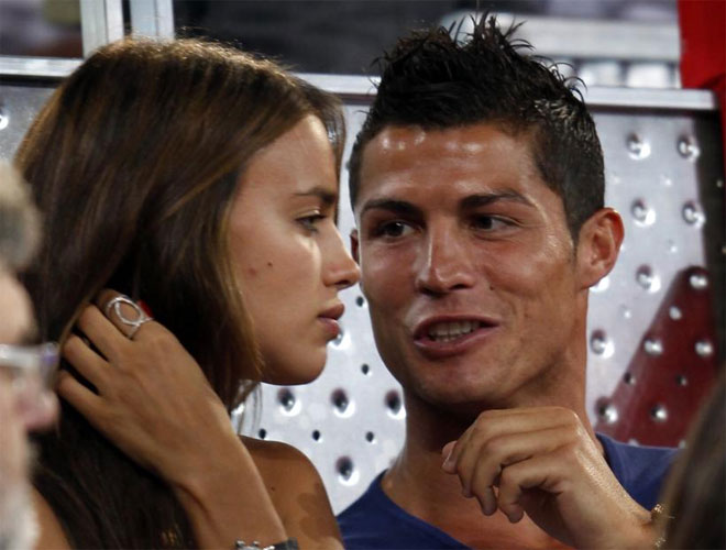 cristiano ronaldo girlfriend 2010 irina. Cristiano Ronaldo and