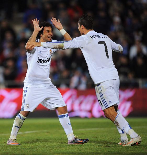 Cristiano Ronaldo S 4 Goals Lead Real Madrid To Win Vs: Wallpaper Picture Arts: Cristiano Ronaldo Vs Getafe