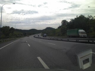 PLUS NKVE highway to Cameron Highlands