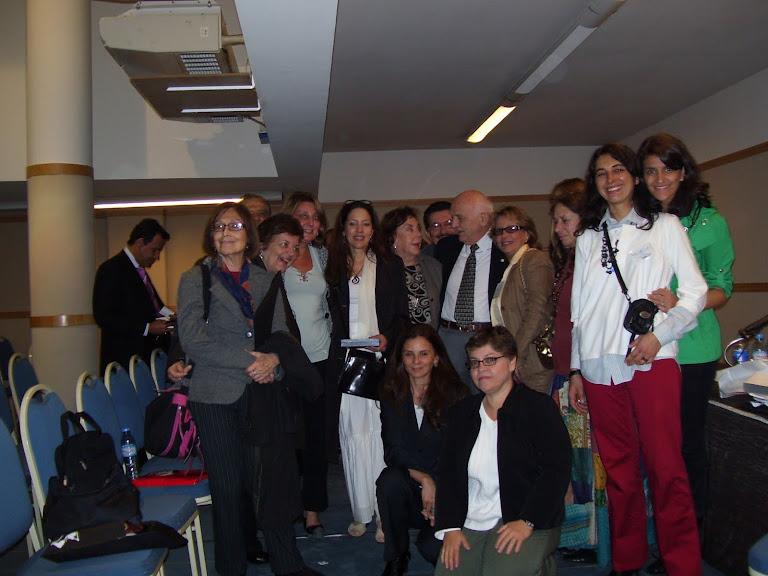 miembros de la AAJ reunidos en Buenos Aires - Argentina