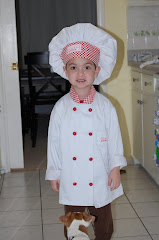 My little chef helper!