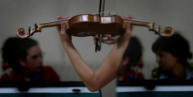 violín onanista
