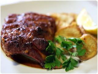 Tasca da elvira travers de porc au four la portugaise - Cuisiner travers de porc ...