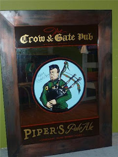 traditional signage dobell designs pipers pale ale vancouver island brewery