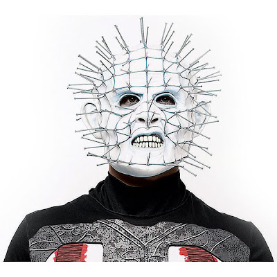 pinhead Scary Horror Movie Characters Halloween Masks Pictures Seen on www.VyperLook.com