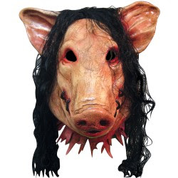 Sawpig Scary Horror Movie Characters Halloween Masks Pictures Seen on www.VyperLook.com