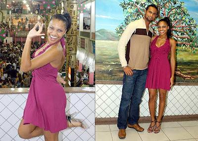 O seu blog for Goleiro muralha e esposa