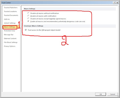 Excel 2010 : Cannot see Oracle Add-Ins on Microsoft Excel 2010