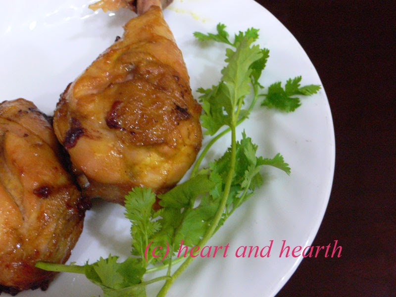 Heart and Hearth: Grilled Chicken With Aromatic Herbs
