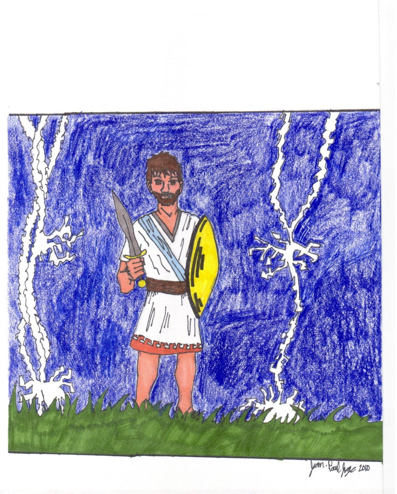 odysseus hero essay title