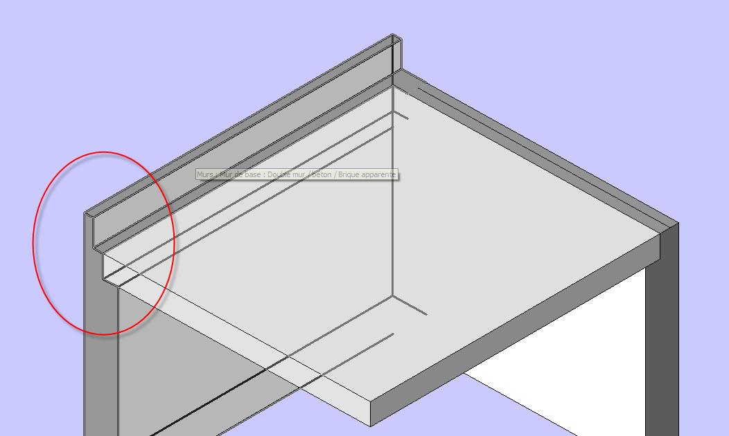 Mister bim revit architecture acrotere for Fenetre 1 3 2 3