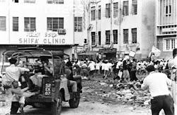 انتفاضة شعب الجنوب على حكومة الإتحاد والتواجد البريطاني في الخمسينات والستينات