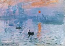 El sol se eleva en el Havre