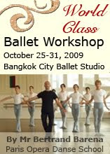 World Class Ballet workshop with Bertrand Barena
