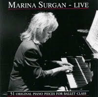 Marina Surgan Live, Music for Ballet Class