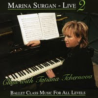 Marina Surgan Live 2, Music for Ballet Class