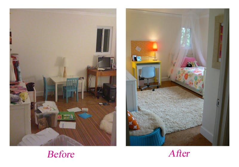 Littlest birds studio naomi 39 s bedroom makeover - Years old girl bedroom ...