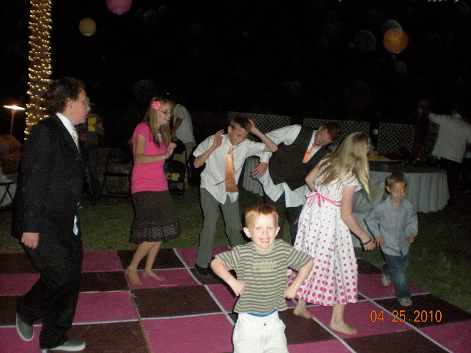 Dancing at Carlie's Reception : )
