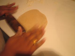 Amasando unos Chapatis