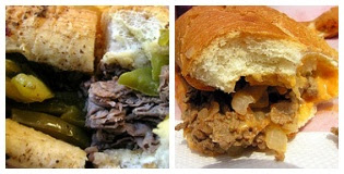 Philly Steak Sandwitch - Italian Beef Sandwitch