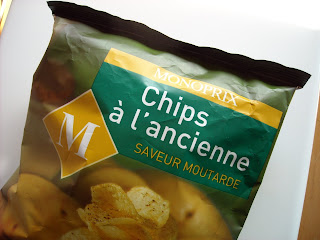Chips saveur Moutarde - Patatas Fritas sabor Mostaza