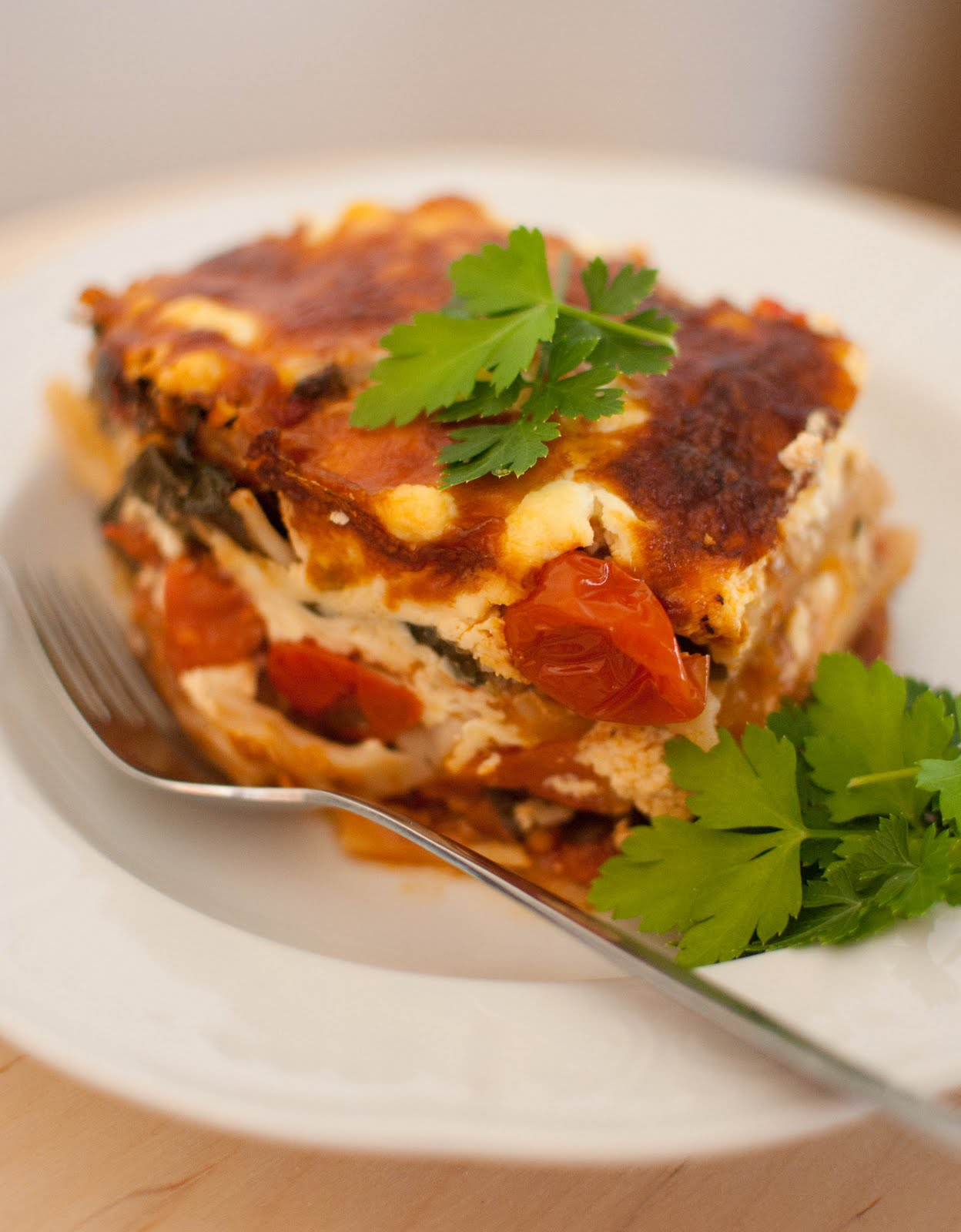 Scandi Home: Vegetable Lasagna
