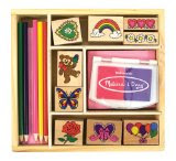 Melissa and Doug Friendship Stamp Set
