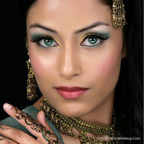south indian bridal makeup. Website: Sahara Makeup