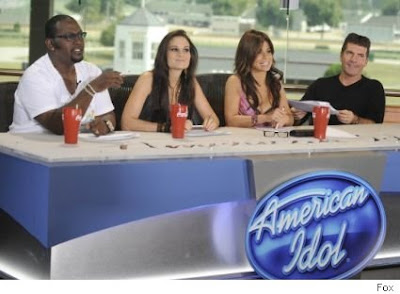 American Idol Top Four Contestants Photo