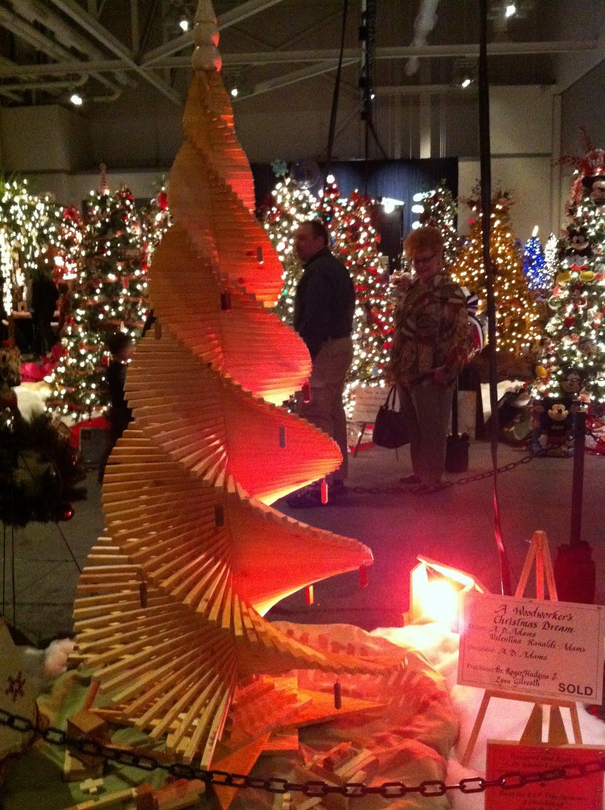 Ohio State Christmas Tree