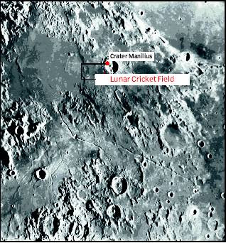 lunar cricket field moon location