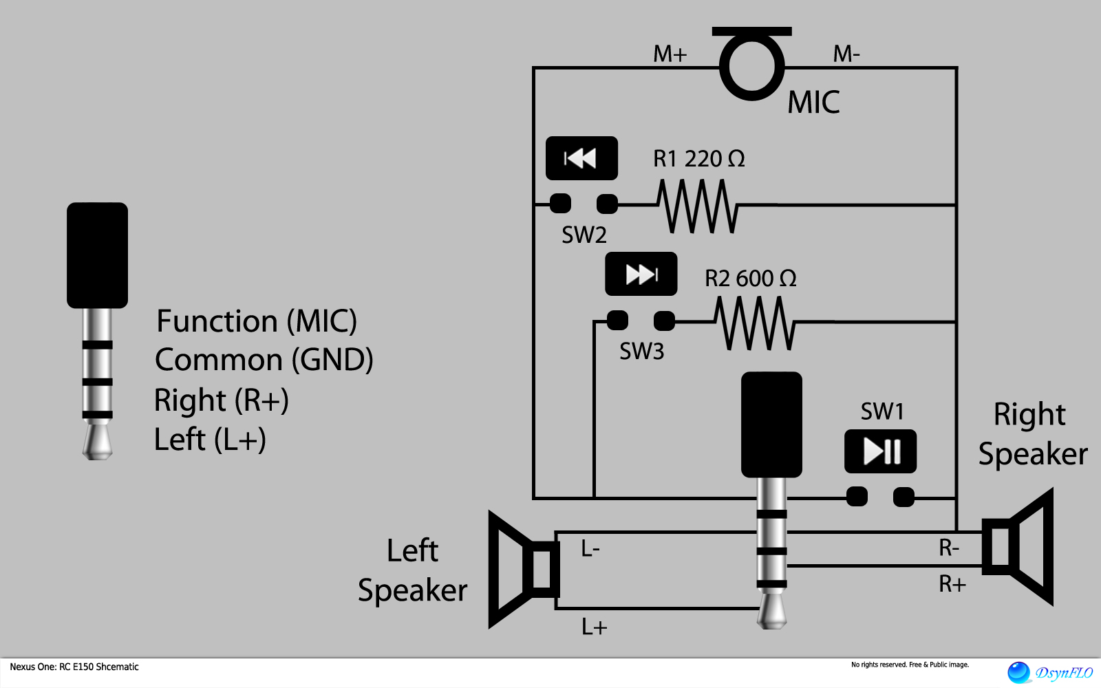 earphone wiring diagram earphone wiring diagrams wiring schematic
