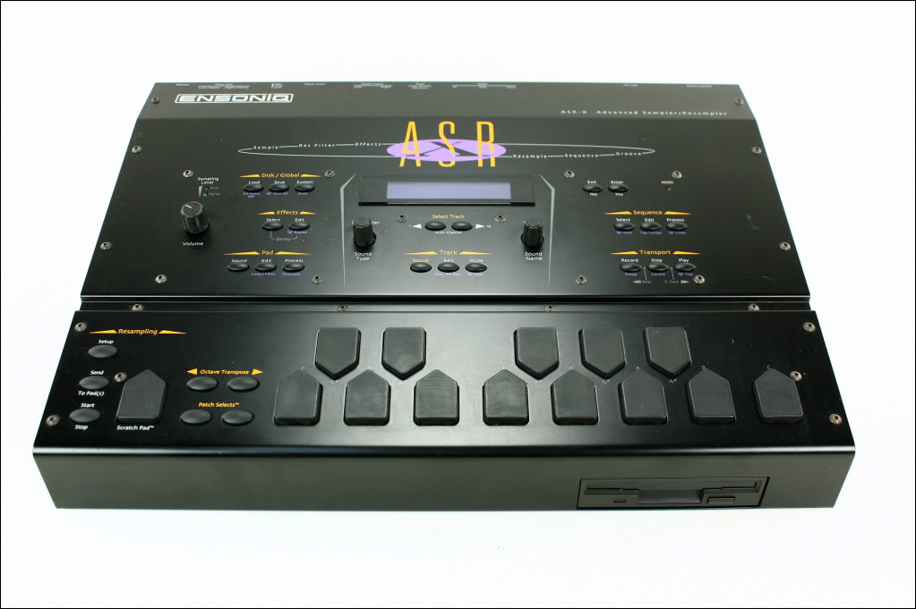 matrixsynth ensoniq asr x pro desktop sampler. Black Bedroom Furniture Sets. Home Design Ideas