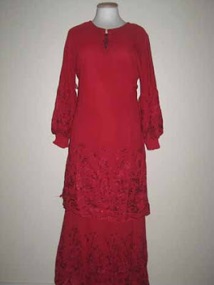baju kurung moden 2103 merah size 38 rm135 sale rm100 sold diana baju