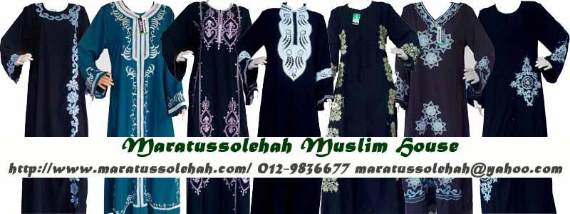 Maratussolehah Muslim House - Pengedar Produksi Muslim