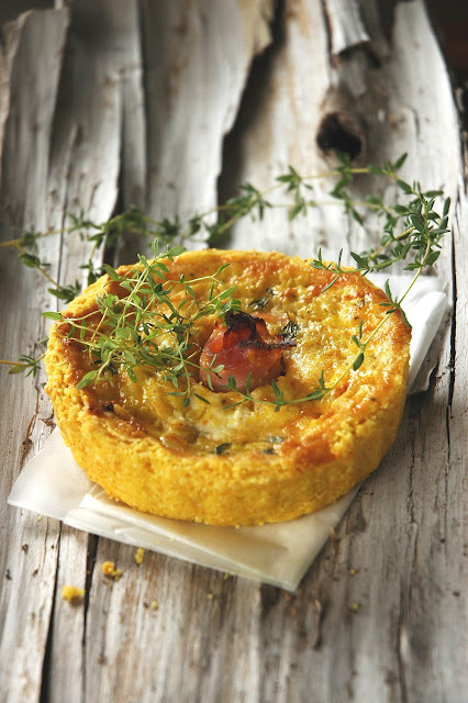 Corn Quiche Recipe In A Tef Crust Recipes — Dishmaps