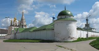 Территория Рязанского Кремля
