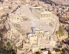 L'acropole d'Athenes