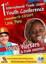 CGTP-FSM Primera Conferencia Internacional de Jóvenes Sindicalistas