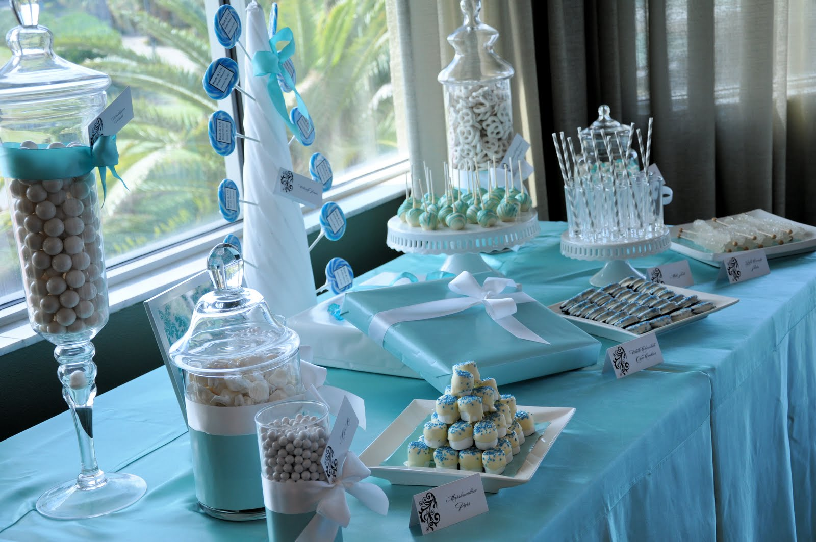 Chic Designs N Fabulous Events Tiffany Amp Co Bridal Shower