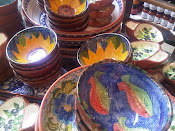 Beautiful Portuguese ceramics at Papadeli
